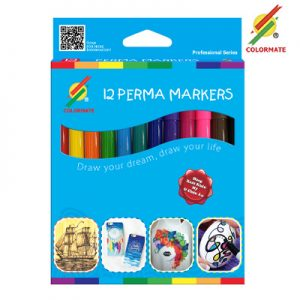 12 Perma Markers
